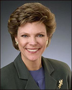Author Cokie Roberts