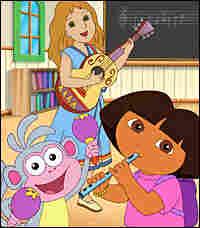 Dora, Maestra de Musica