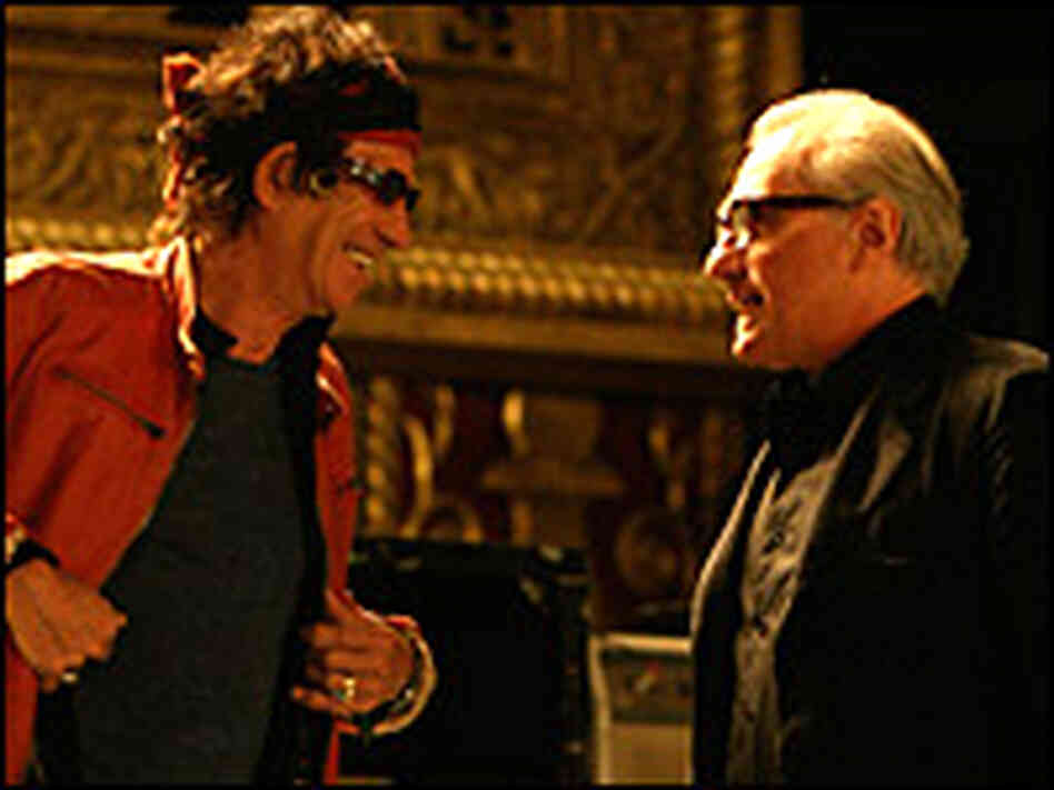 A Little 'Light' Music: Scorsese on the Stones : NPR