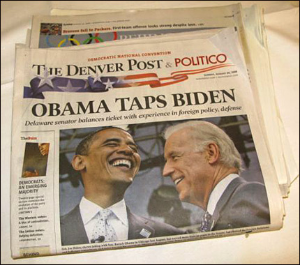 Today's Denver Post Headline