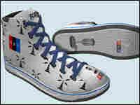 Side view of NPR sneaker design