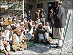 Legal aid session in Jalalalbad