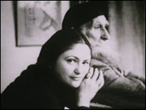 Dina Vierny and Aristide Maillol pictured in January 1944.