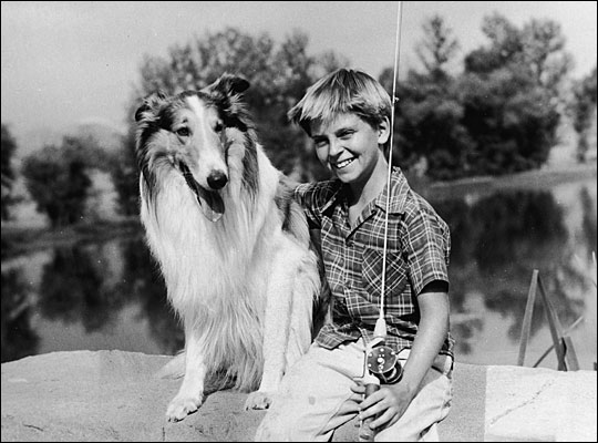 Lassie with Tommy Rettig