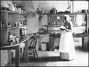 Dolly Johnson, cook for President Benjamin Harrison.
