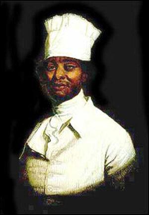 Presumed portrait of Hercules, George Washington's enslaved cook.