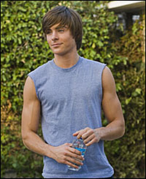 Zac Efron in a muscle tee