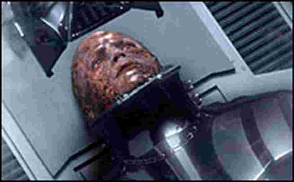 Vader before his mask in 'Revenge of the Sith.'