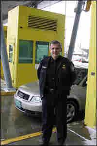 Jim McMillan, port of entry director at Highgate Springs.