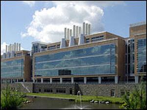 FBI Crime Lab building