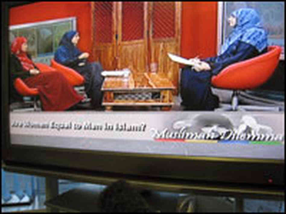 """The Muslim Woman's Dilemma"" host and guests."