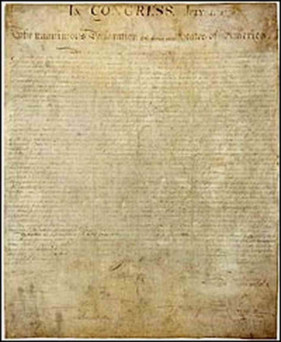 The Significance of the Declaration of Independence
