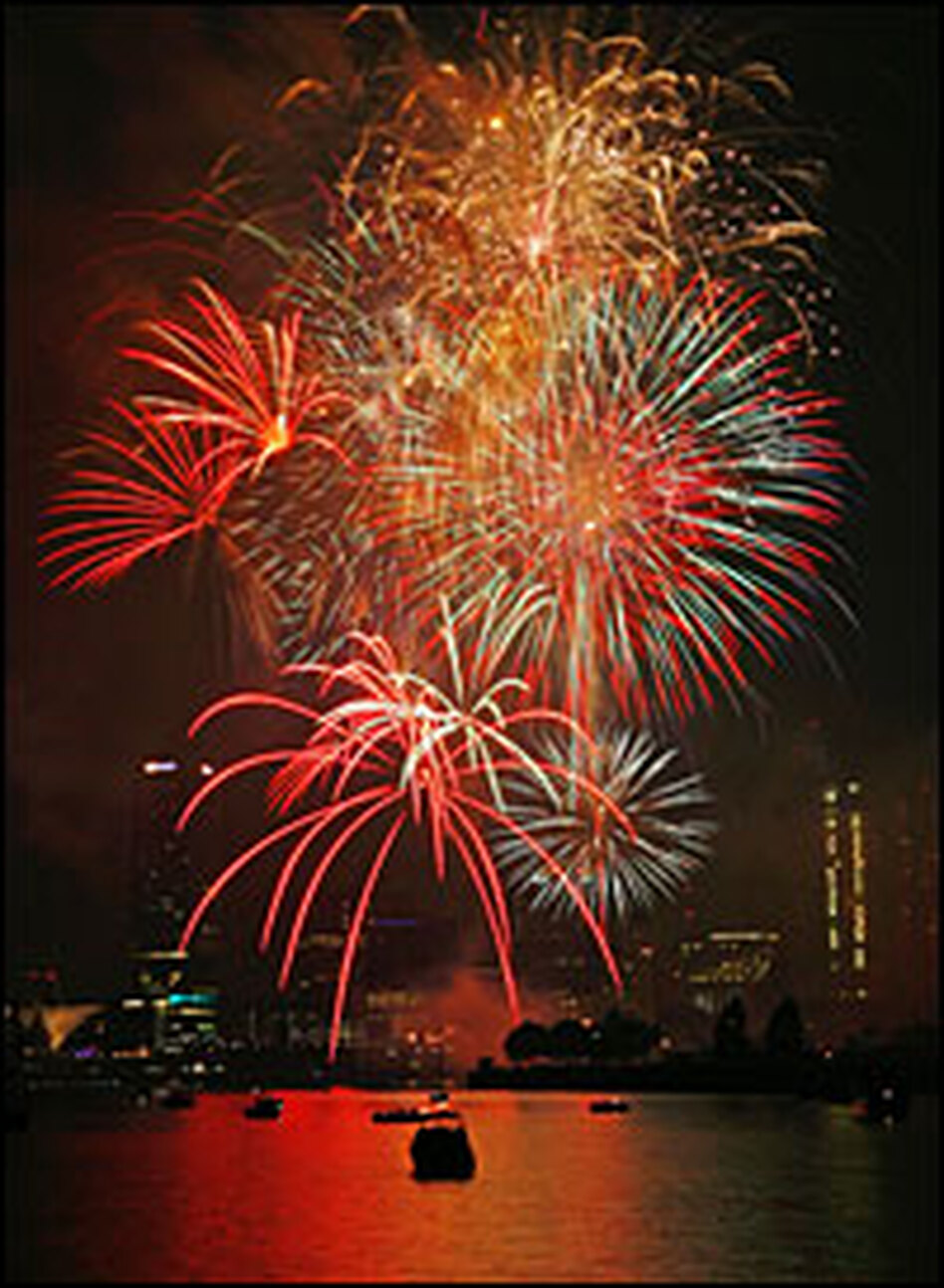 Fireworks shows in the U.S. are being canceled or scaled back as supply problems in China cause a fireworks shortage.