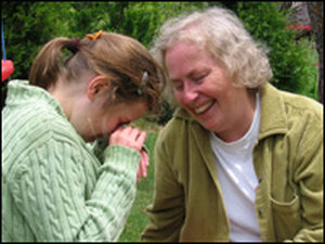 Ellen Wallace and her daughter, Tara.