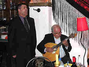 Fado singer Jose Matoso