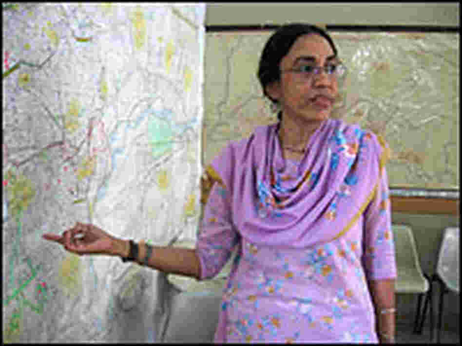 Parveen Rehman left a job at a high-end Karachi architectural firm to join the Orangi Pilot Project.