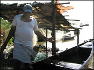 Mumbai fisherman.