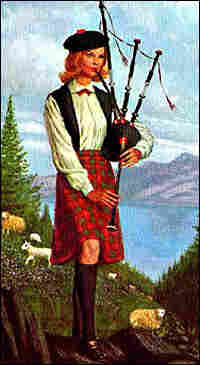 Nancy Drew Plays the Bagpipes