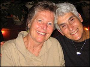 Luisa Paster and Harriet Bernstein
