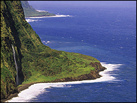 Waipi'o Valley Lookout and Hamakua Coast in Hawaii
