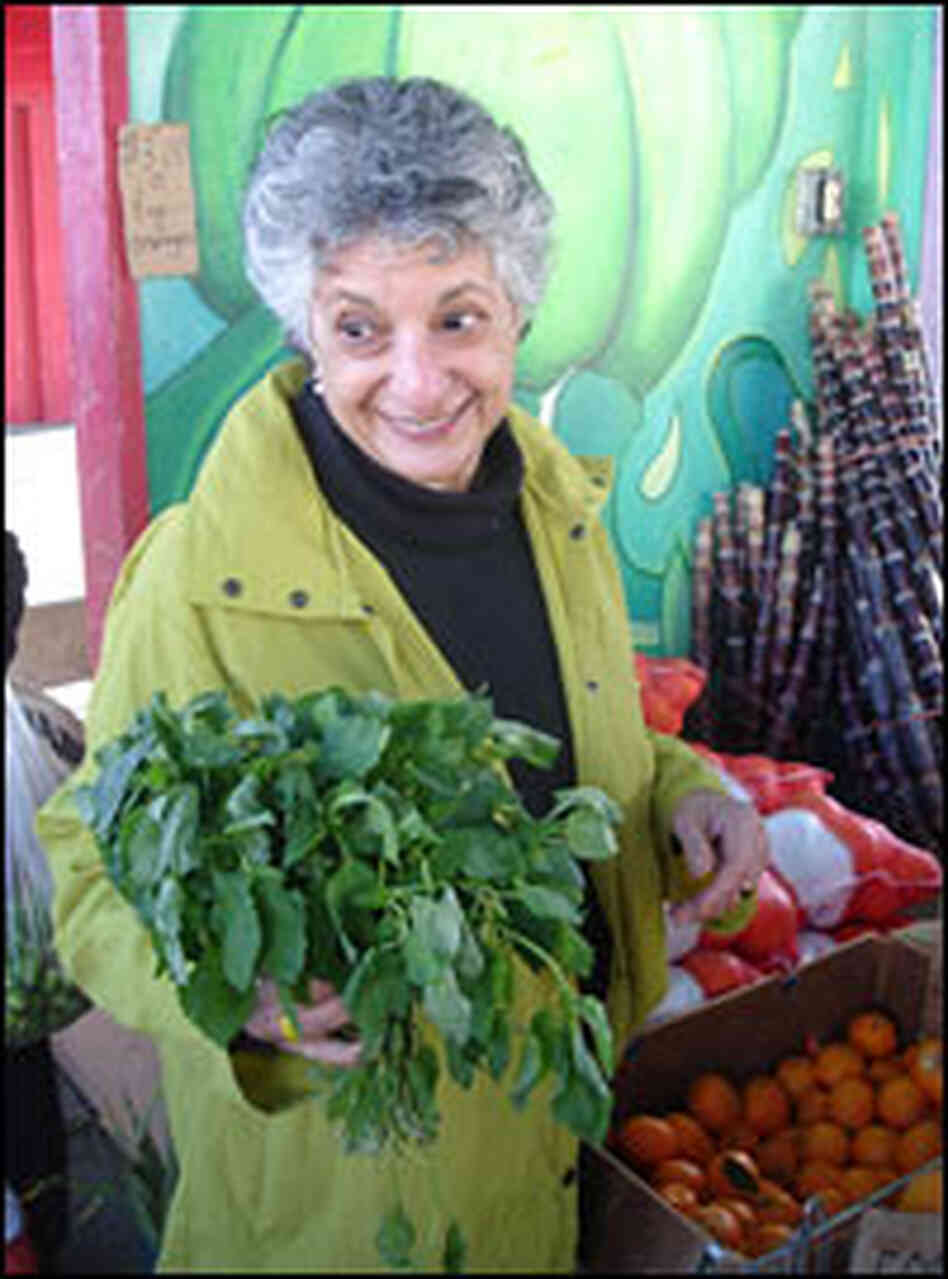 Niloufer Ichaporia King prowls about six farmers markets a week.