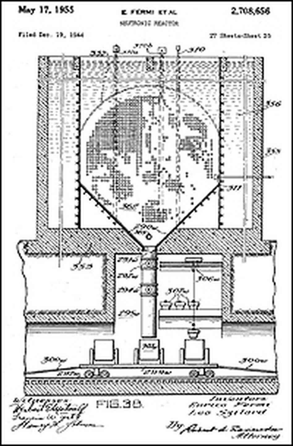 Neutronic reactor patent