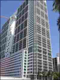 The Brickell 500 high-rise is Jose Perez' latest condo project in downtown Miami.