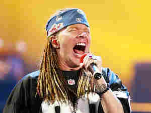 Axl Rose of Guns N' Roses 300