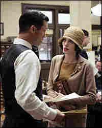 Jeffrey Donovan and Angelina Jolie
