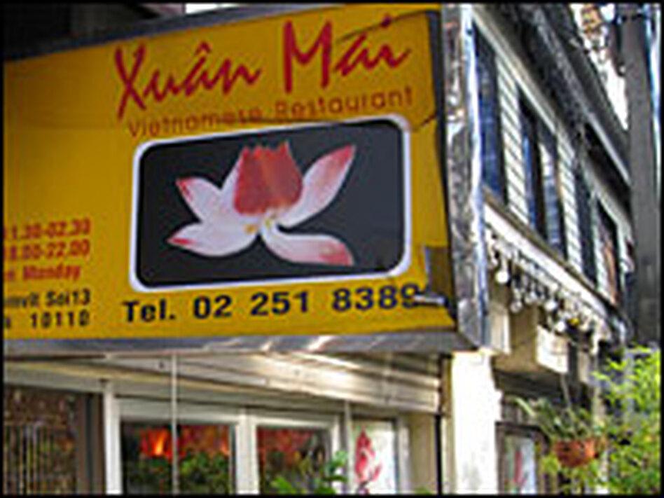 Xuan Mai, Robson's Vietnamese restaurant in Bangkok.