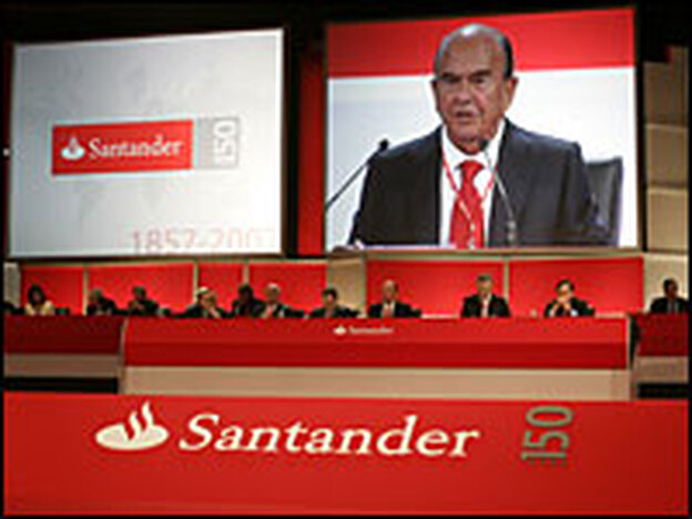 Emilio Botin, chairman of Banco Santander, has a reputation as a shrewd investor.