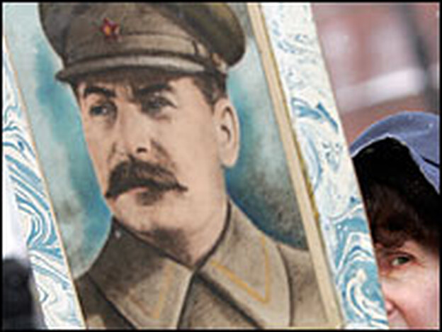 Greatest Russian in history? Online voting as part of a Russian TV series put Josef Stalin at the top of the list, even though his regime is believed to have killed about 20 million people.