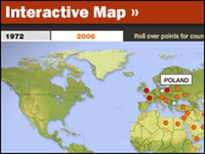 Interactive Map: Ballistic Missiles