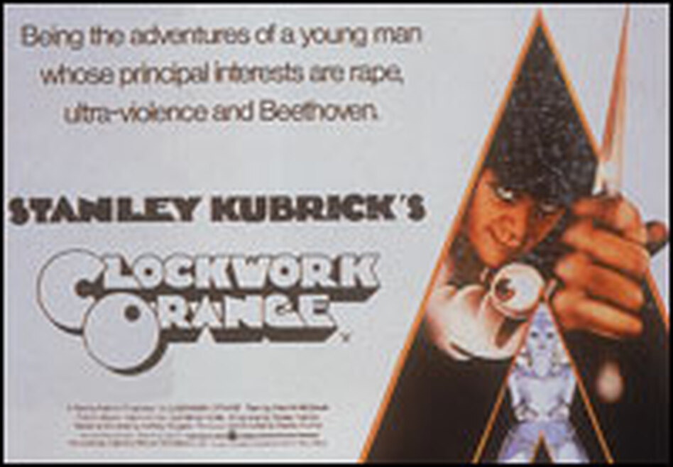 Lorenzo says Stanley Kubrick's now-cult classic <em>A Clockwork Orange</em> was not a success when it was released because moviegoers were appalled by the violence.