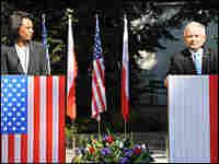 Secretary of State Rice meets with Polish President Lech Kaczynski
