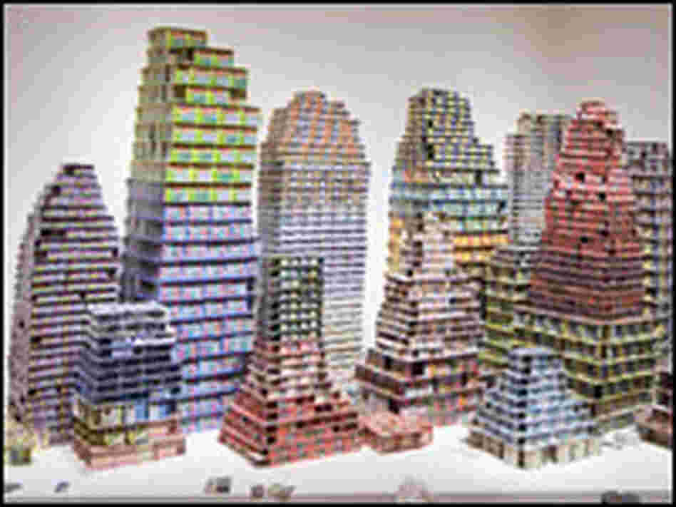 'Chance City': Card-houses built with lottery tickets