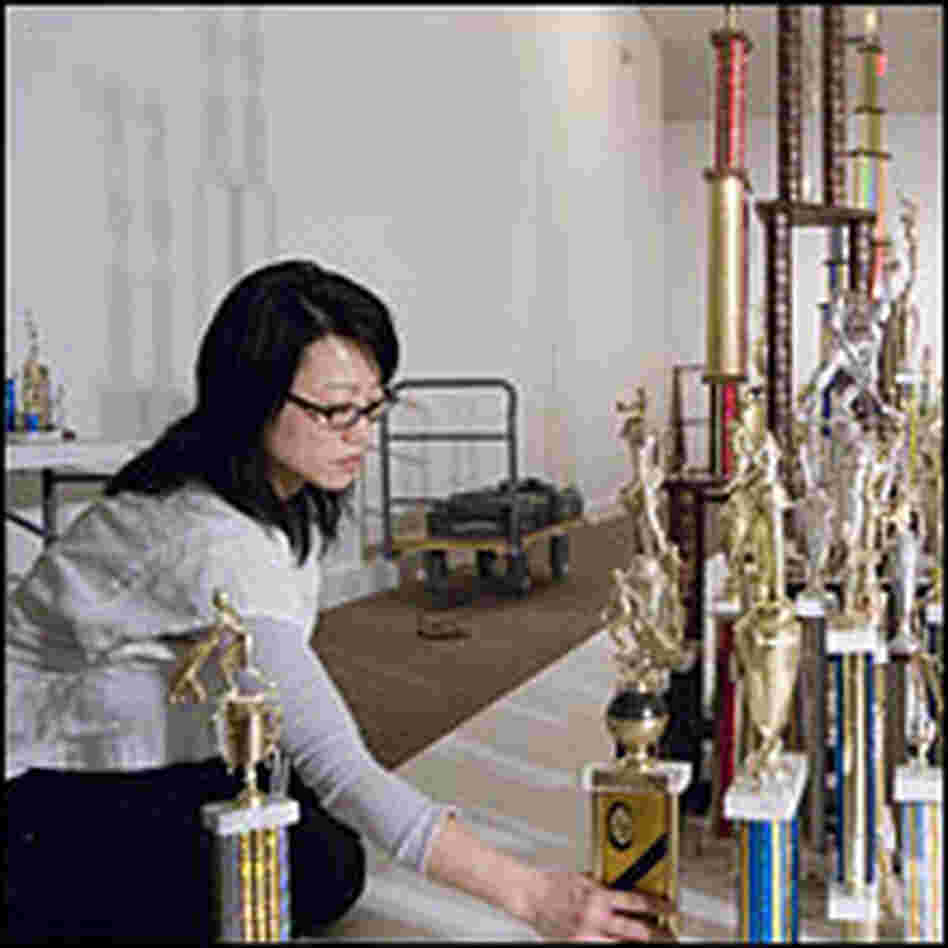 Jean Shin places trophies for 'Everyday Monuments'