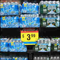 Bottled water for sale