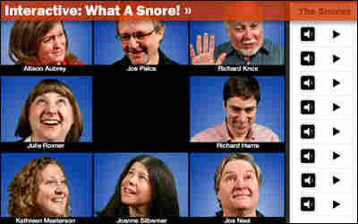 Interactive: What A Snore!