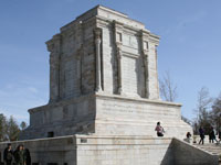 The tomb of Abolqasem Ferdowsi