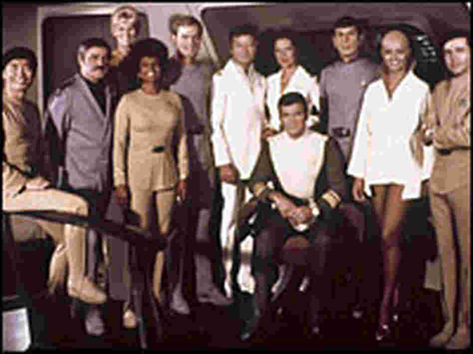 'Star Trek' cast members in boots