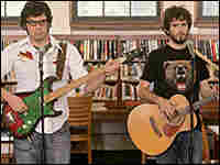 Jemaine Clement and Bret McKenzie in HBO's Flight of the Conchords