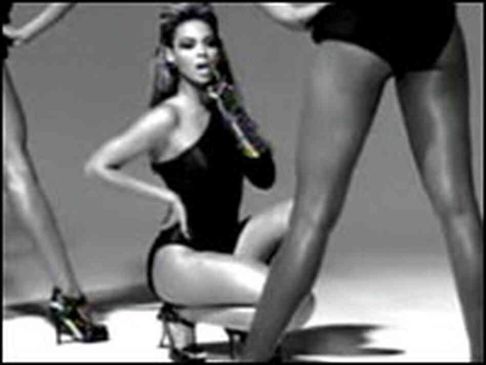 "Beyonce's ""Single Ladies"" video screen grab"