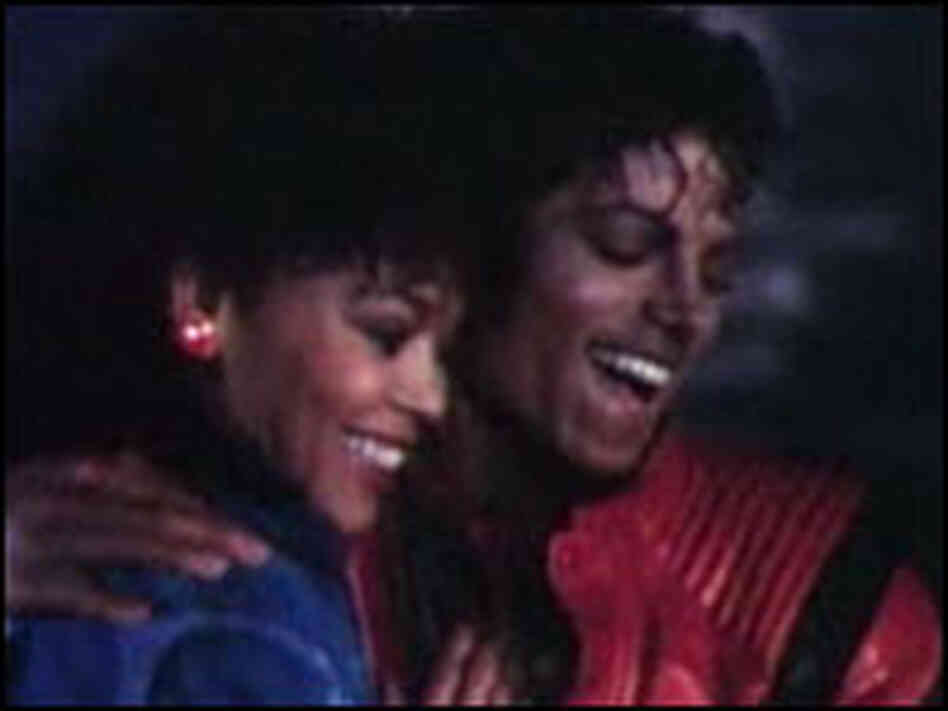 "Michael Jackson in ""Thriller"""