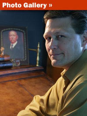 Crime author David Baldacci