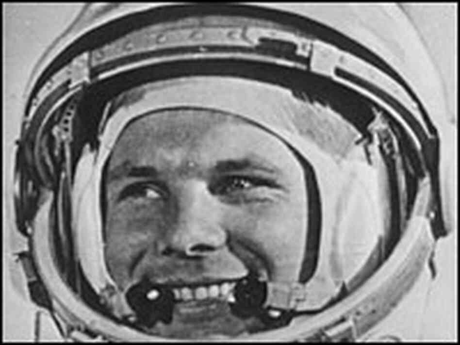 Soviet cosmonaut Yuri Gagarin was the first man to travel in space.