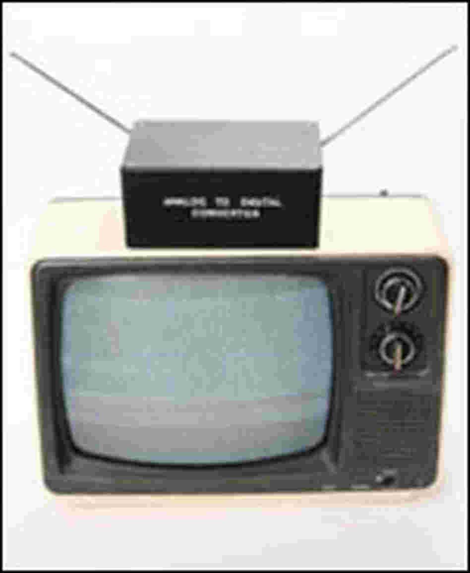 digital cable to analog tv converter box. Black Bedroom Furniture Sets. Home Design Ideas