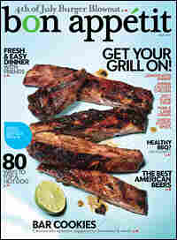 July 2009 cover of 'Bon Appetit' magazine