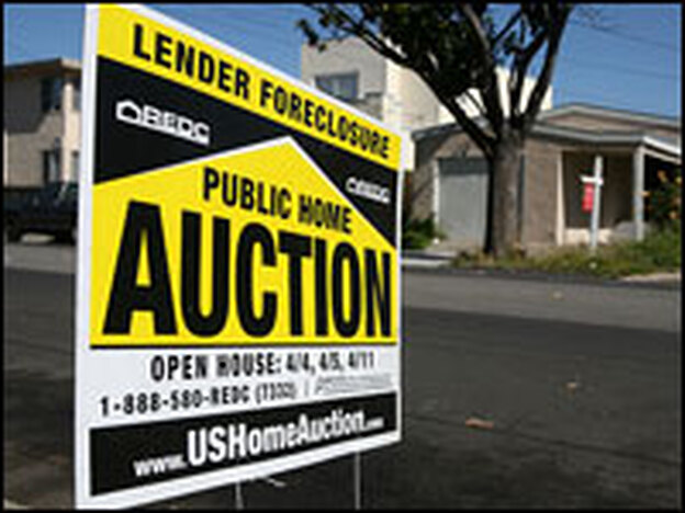 A foreclosure sign in Richmond, Calif. To qualify for a short sale, homeowners cannot already be in foreclosure.