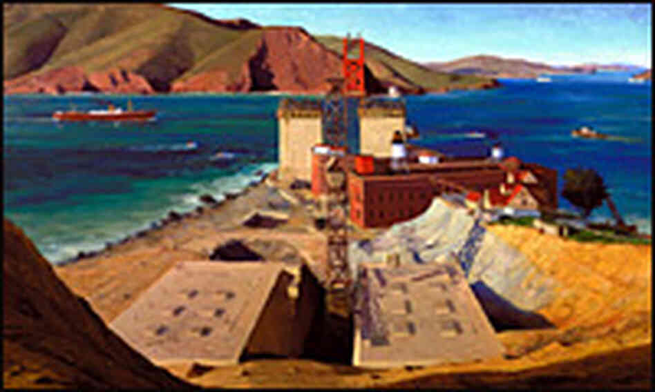 Ray Strong's 'Golden Gate Bridge'